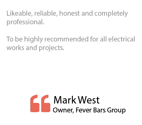 Livewire Electrical Testimonials