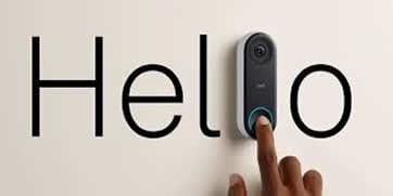 Nest Hello doorbell installation in Cheltenham & Gloucester