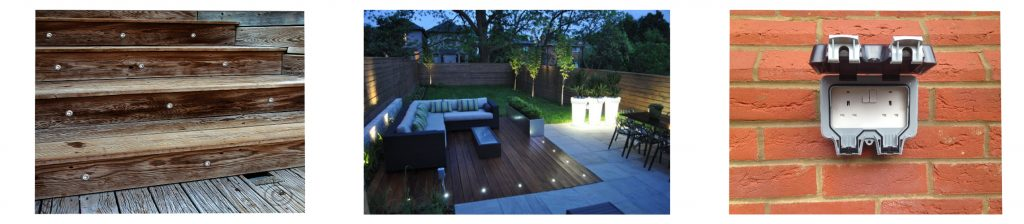 Outside Sockets & Lighting Installations in Cheltenham & Gloucesters